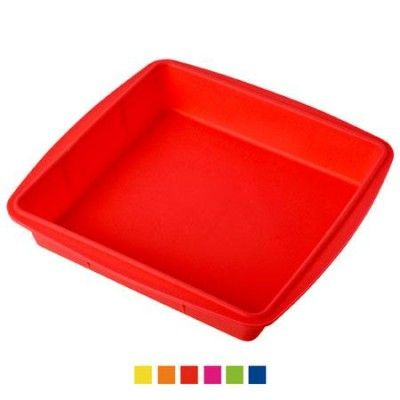 Силиконовая форма для пирога Противень 27*27*4,5 см