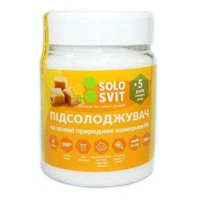 """Натуральный подсластитель """"SoloSvit """", банка 200г"""
