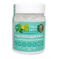 """Натуральный подсластитель """"SoloSvit Stevia+"""", банка 200г (10:1)"""