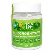 """Натуральный подсластитель """"SoloSvit Stevia"""", банка 200г (5:1)"""