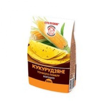 "Мука кукурузная ТМ ""Сто Пудов"", 500 г"